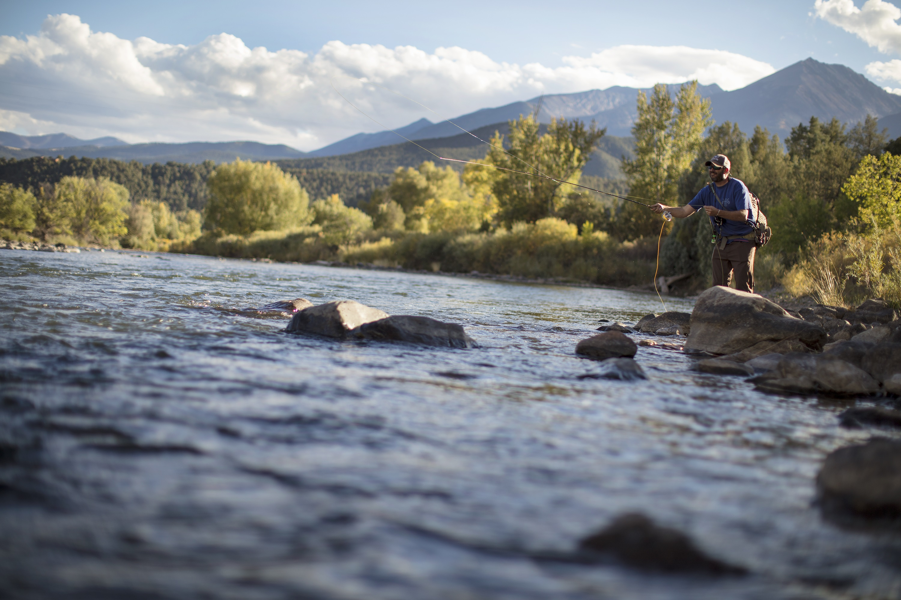 Fly Fishing on the Arkansas River