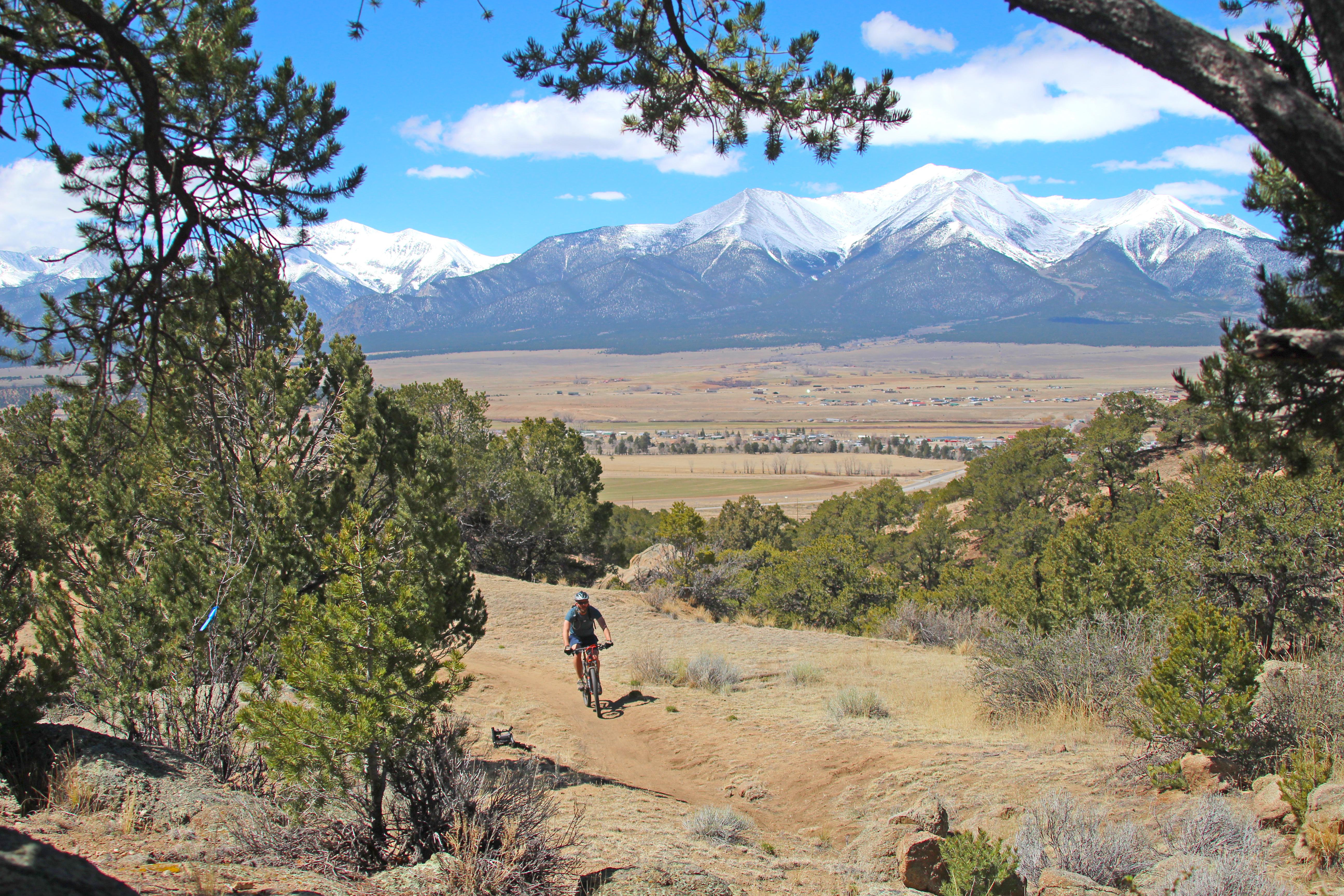 Mountain Biking In Salida